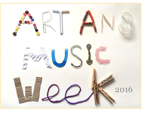 art week flyer